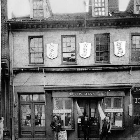 15 North Gay Street circa 1892