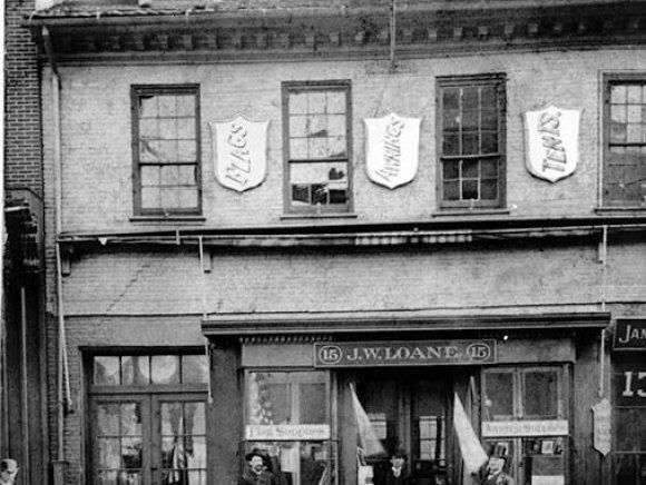 15 North Gay Street circa 1892