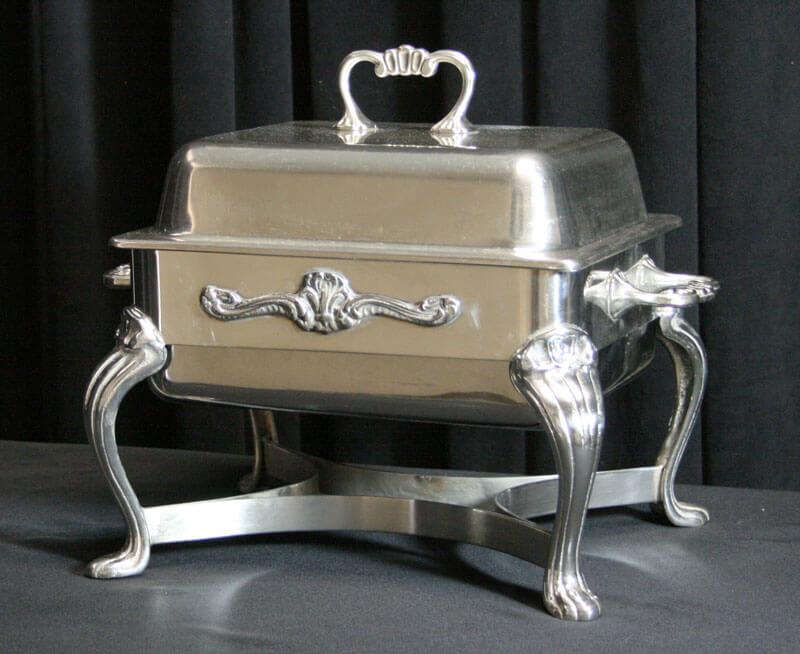 4 Quart Silver Chafer