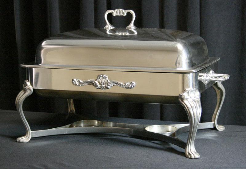 8 Quart Silver Chafer