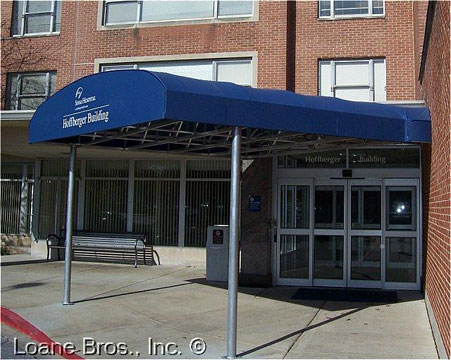 Commercial A Frame Awning 2