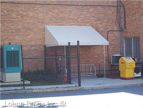 Commercial Shed Style Awning 6