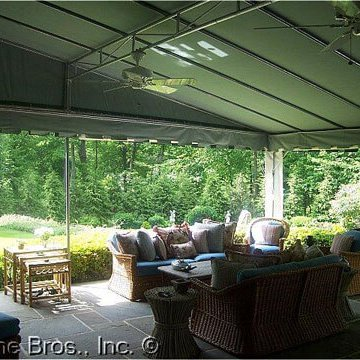 Residential Stationary Frame Awning Interior 1
