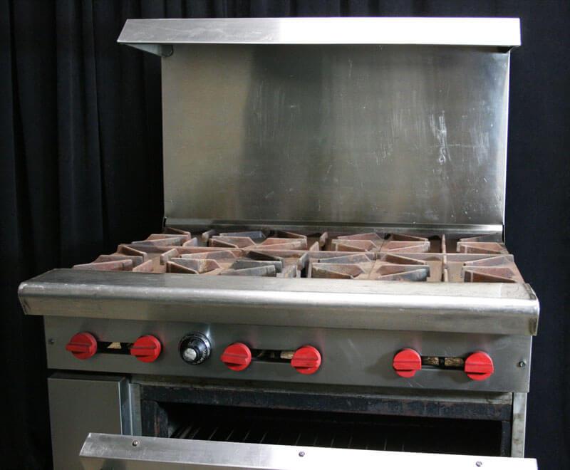 Six Burner Propane Stove