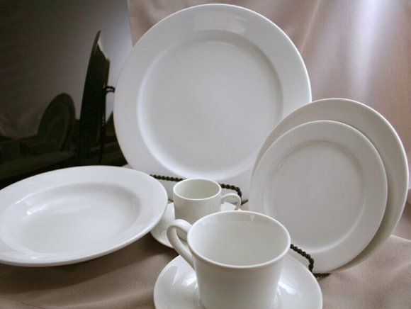 Plain White China