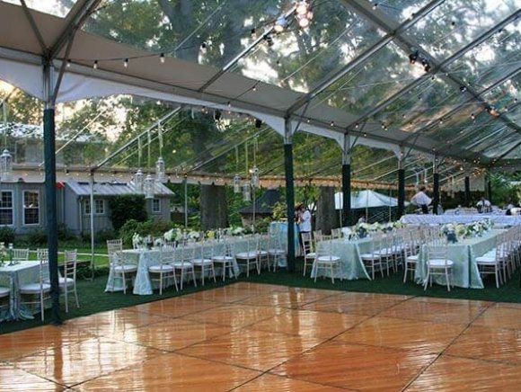 Clear Top Frame Tent - 017