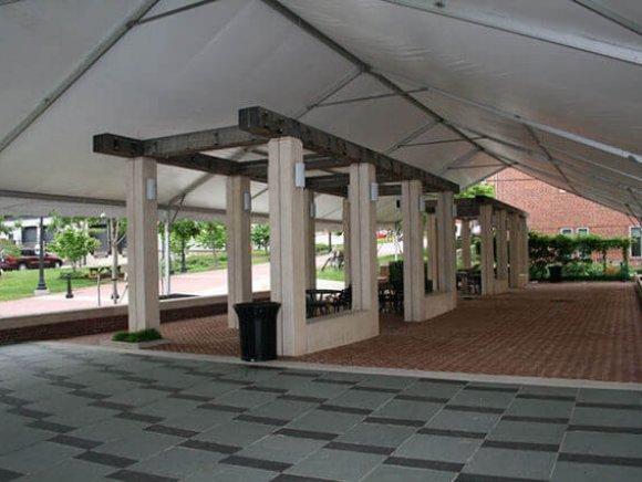 custom-installation-over-pergola-view