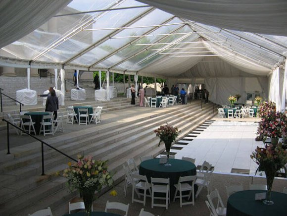 custom-installation-tented-reception-over-steps-and-sidewalk