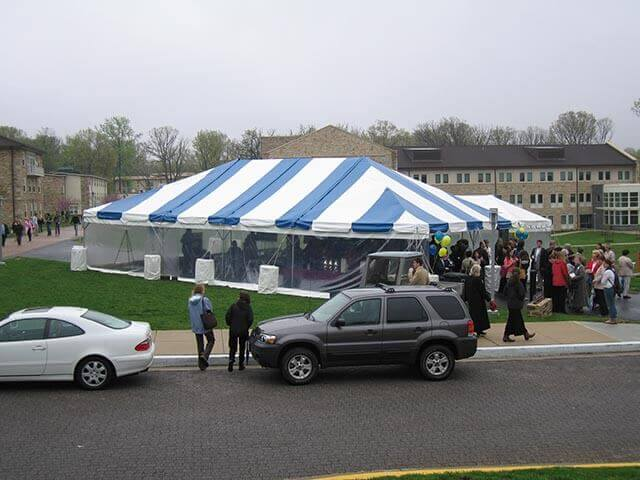 CONTACT INFO & frame-tent-blue-and-white-frame | Loane Bros. Inc.