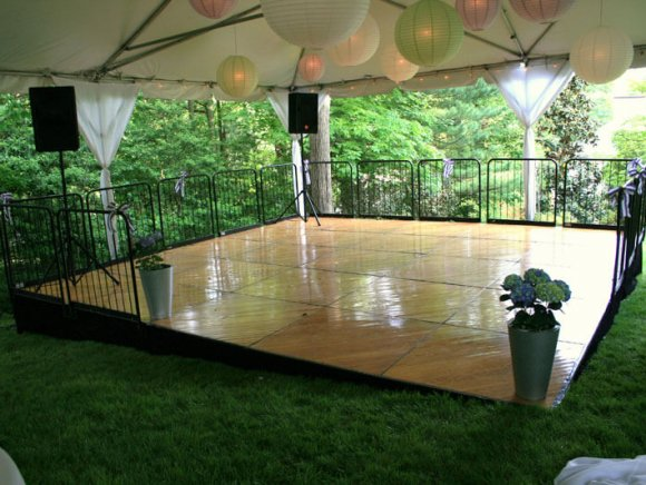 Levelled Wood Dance Floor