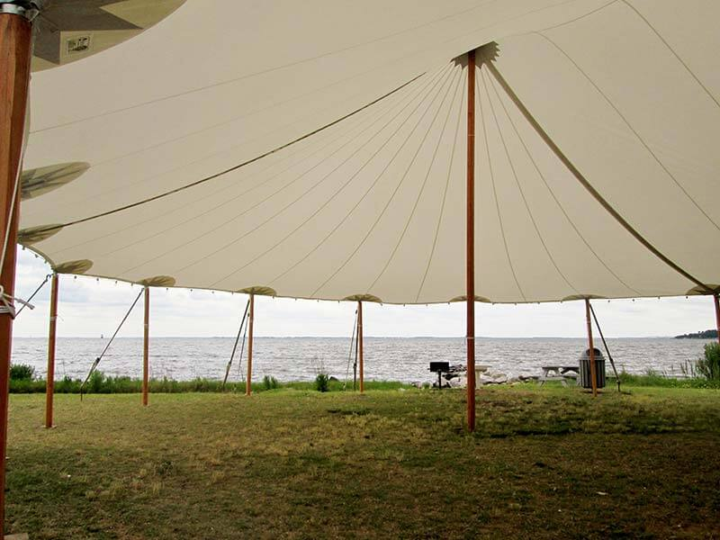 quite nice eac20 4977d Sailcloth Tents | Loane Bros., Inc.