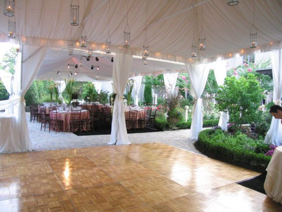Frame Tent with Dance Floor