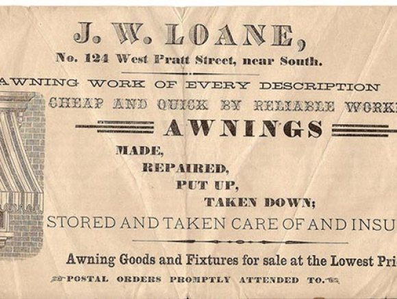 Historical-Archive-loane-bros-business-card-awnings