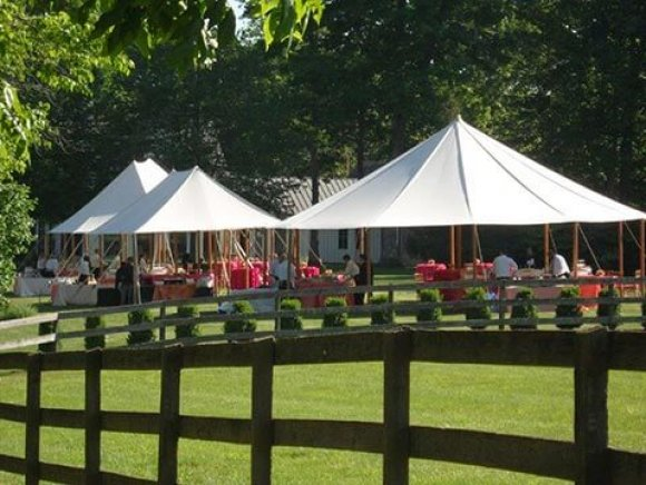 group-of-pole-tents-at-venue