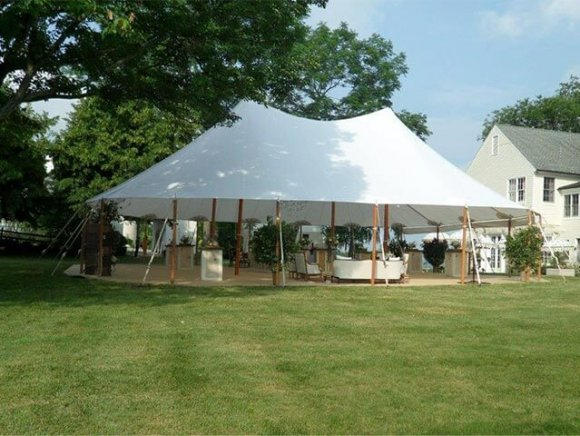 pole-tent-in-a-residential-setting