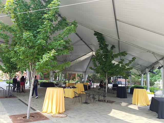 Additional Outdoor Tented Area