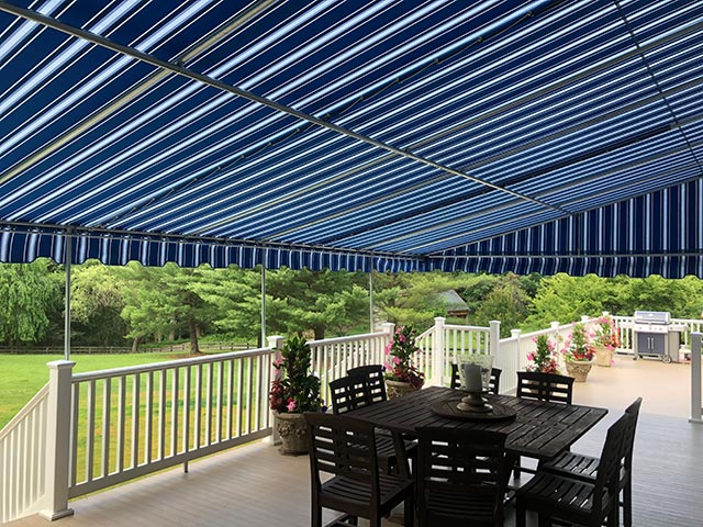 Awning Over Residential Decks