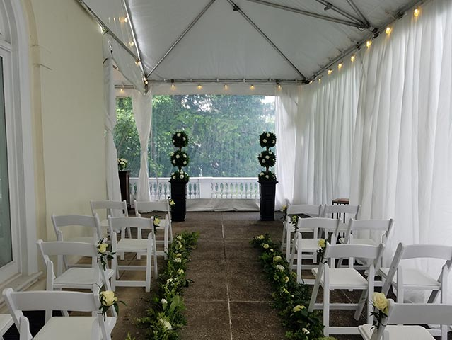 A Tented Outdoor Event